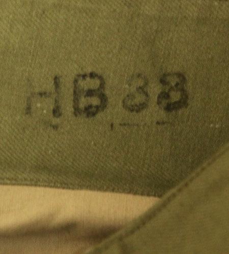 [古着/USED] 50's  デッドストック フランス軍 前期 ツイルコットン M47パンツ
