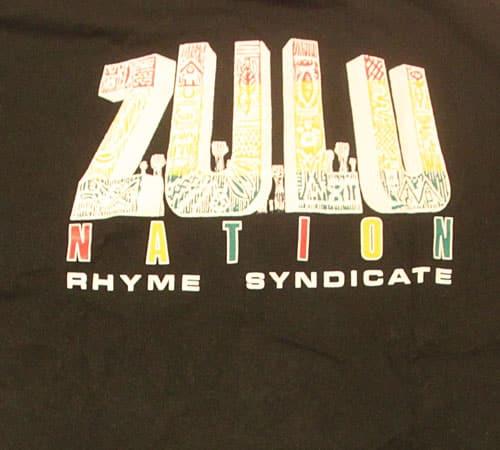 [古着/USED] 80's  デッドストック ZULUNATION Tシャツ