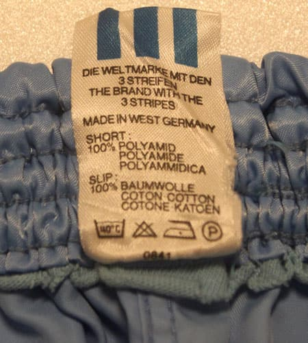 [古着/USED] 80's 西ドイツ製 アディダス ジョグショーツ