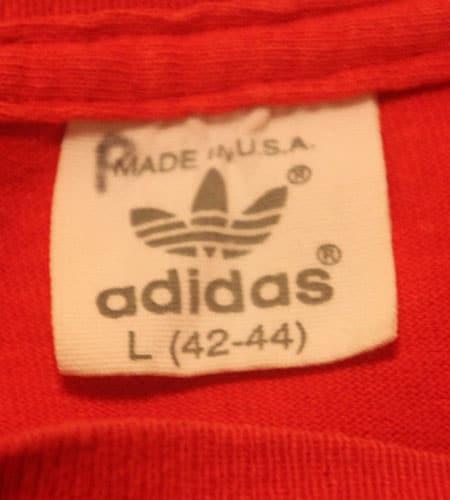 [古着/USED] 80's アメリカ製 コロンビア代表 アディダス Tシャツ