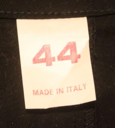 [古着/USED]  デッドストック イタリア製 ワークコート