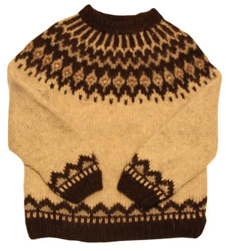 [古着/USED] 80's アイスランド製 アイスランドセーター