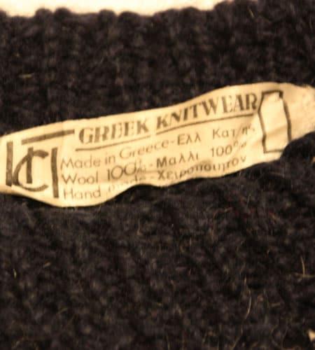 [古着/USED] 70's ギリシャ製 グリークニットウェア セーター