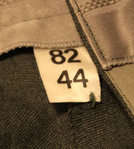 [古着/USED] 70's  デッドストック スイス軍 ドレスパンツ