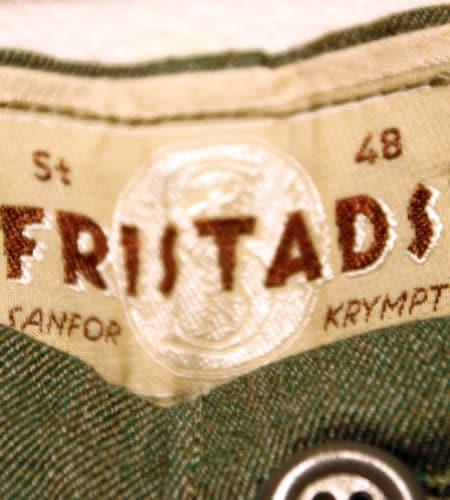 [古着/USED] 60's  デッドストック スウェーデン軍 FRISTADS ワークパンツ