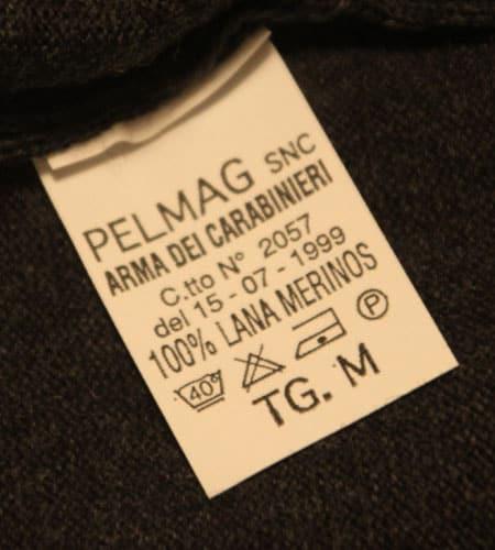 [古着/USED] 90's  デッドストック イタリア軍 Vネックセーター