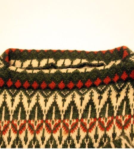 [古着/USED] 70's スウェーデン製 ICELAND セーター