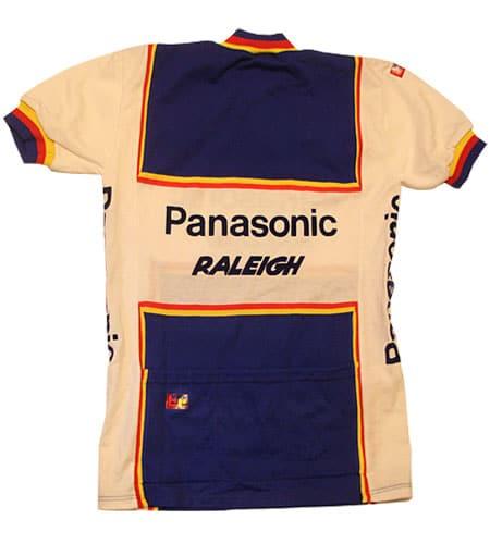 [古着/USED] 70's ベルギー製 デッドストック パナソニック ラレー サイクリングジャージ
