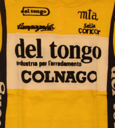 [古着/USED] 70's イタリア製 デッドストック デルトンゴ コルナゴ サイクリングジャージ