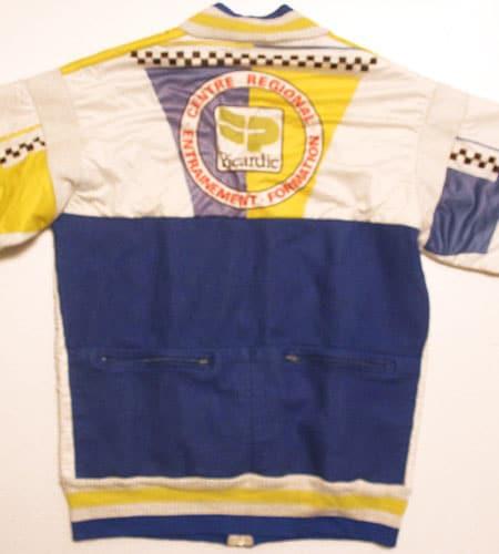 [古着/USED] 80's フランス製 フルジップ プジョー サイクリングジャージ