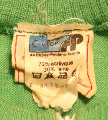 [古着/USED] 70's フランス製 フロントポケット サイクリングジャージ