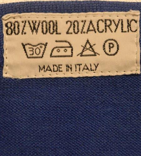 [古着/USED] 70's デッドストック イタリア製 サイクリングジャージ