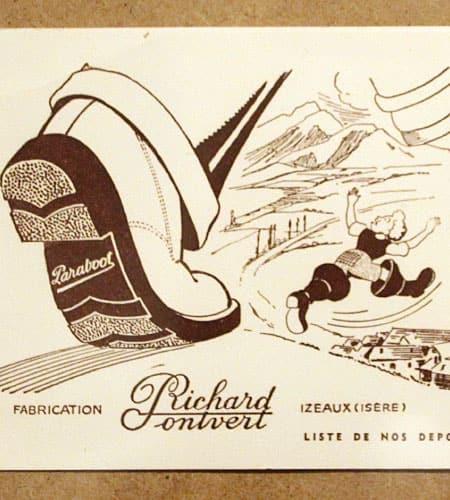 [古着/USED] 50's フランス製 デッドストック パラブーツ ビュバー