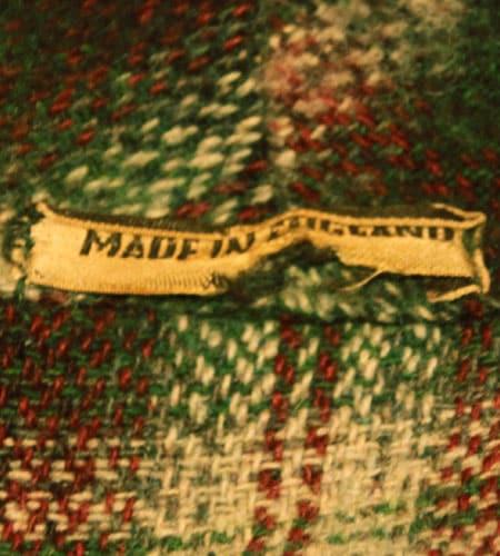 [古着/USED] 60's イングランド製 マクレガー スモーキングジャケット