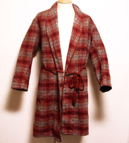 [古着/USED] 60's イングランド製 バッキンガム スモーキングジャケット