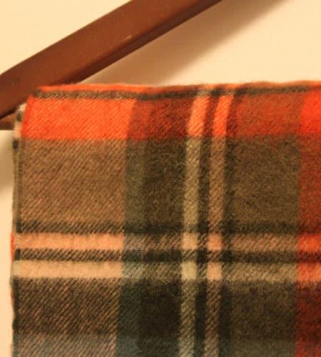 [古着/USED]  スコットランド製 ドレイクス×バーニーズニューヨーク ラムウールマフラー