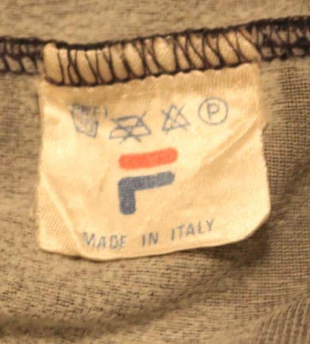 [古着/USED] 70's イタリア製 FILA ジャージ