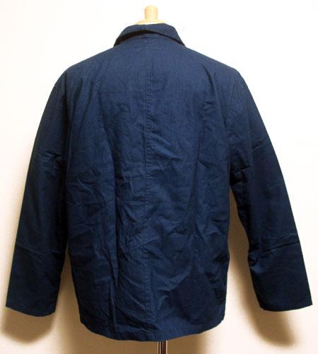 [古着/USED]   デッドストック インディゴ チャイナワークジャケット