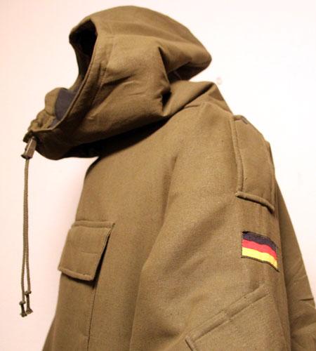 [古着/USED] 80's  デッドストック ドイツ軍 ウォータープルーフスモック