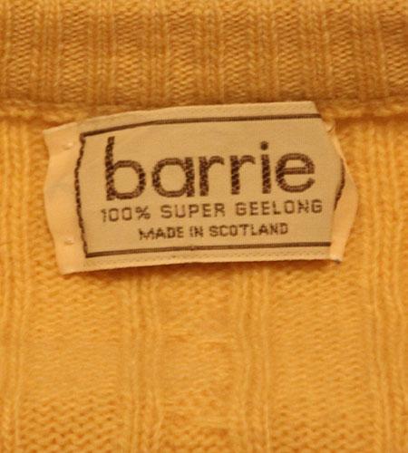 [古着/USED] 80's スコットランド製 バリー ジーロンラムウール セーター