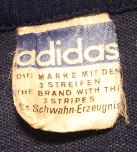 [古着/USED] 70's 西ドイツ製 アディダスジャージ