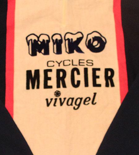 [古着/USED] 70's フランス製 MIKO メルシエール サイクリングジャージ