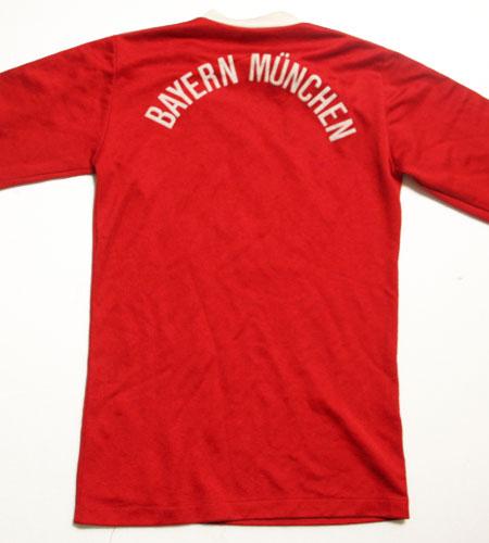 [古着/USED] 70's 西ドイツ製 アディダス バイエルンミュンヘン サッカーシャツ