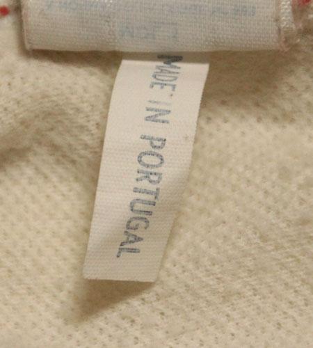 [古着/USED] 80's ポルトガル製 アディダス ハンブルガーSV サッカーシャツ