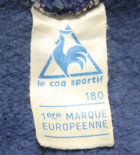 [古着/USED] 70's フランス製 ルコック デカロゴ ジャージ