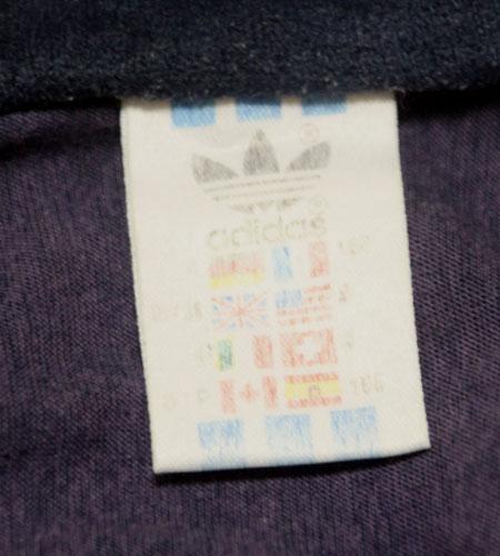 [古着/USED] 80's フランス製 アディダス ベロアジャージ