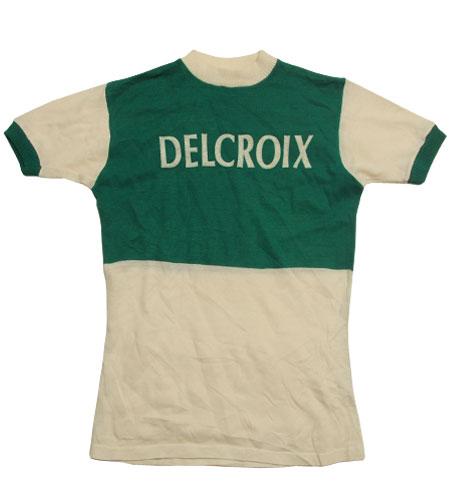 [古着/USED] 70's フランス製 DELCROIX サイクリングジャージ