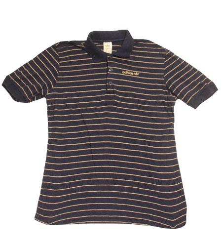 [古着/USED] 80's ユーゴスラビア製 アディダス ポロシャツ