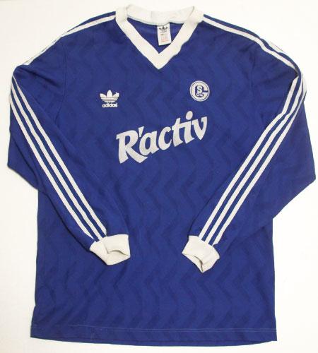 [古着/USED] 80's ブルガリア製 アディダス シャルケ サッカーシャツ
