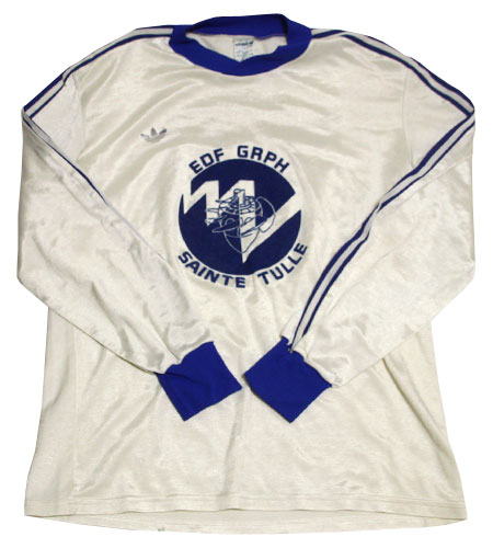 [古着/USED] 70's チュニジア製 アディダス サッカーシャツ