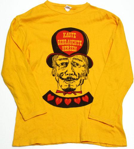 [古着/USED] 70's 西ドイツ製 七分袖 ユーロTシャツ