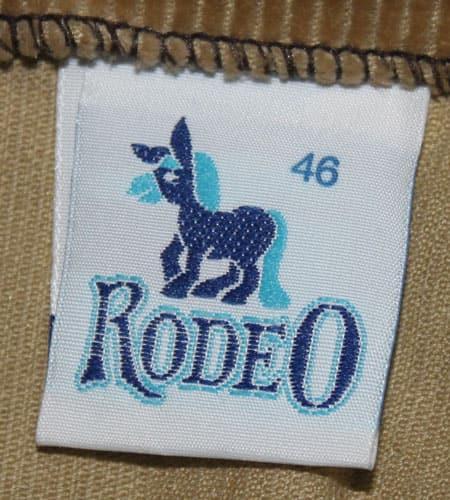 [古着/USED] 70's オーストリア製 RODEO ユーロニッカパンツ
