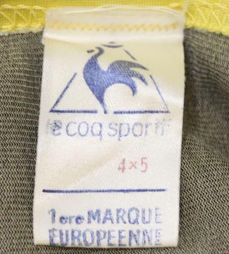 [古着/USED] 70's フランス製 ルコック サッカーシャツ