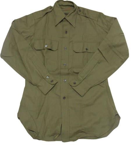 [古着/USED] 60's  イタリア軍 ウールシャツ