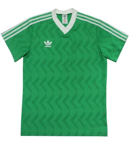 [古着/USED] 80's ブルガリア製 アディダス サッカーシャツ