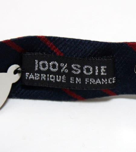 60's デッドストック フランス製 蝶ネクタイ