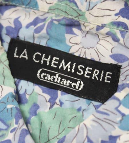 [古着/USED] 70's フランス製 cacharel リバティーシャツ