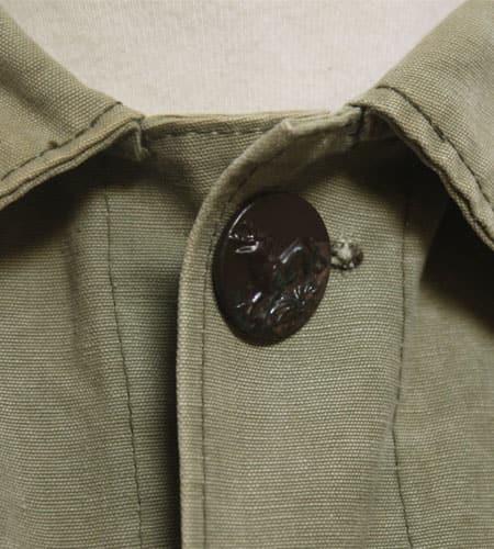 [古着/USED] 30's フランス製 動物ボタン フレンチハンティングジャケット