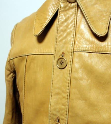 [古着/USED] 70's スペイン製 レザージャケット