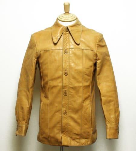 スペイン製 レザージャケット