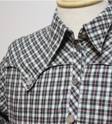 [古着/USED] 70's オーストリア製 チロルウエスタンシャツ