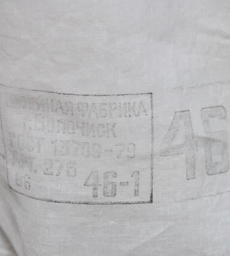 [古着/USED] 70's  デッドストック ロシアン プルオーバーシャツ
