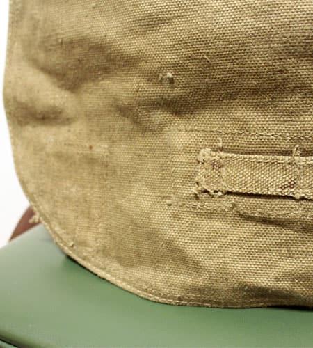 [古着/USED] 50's  チェコスロバキア軍 リネンショルダーバッグ
