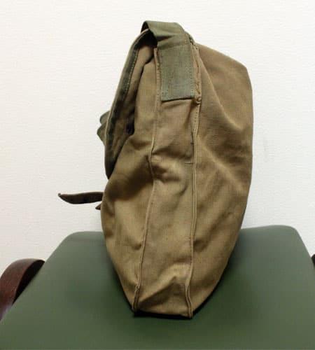 [古着/USED] 30's  ブルガリア軍 キャンバスショルダーバッグ