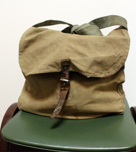 ブルガリア軍 キャンバスショルダーバッグ