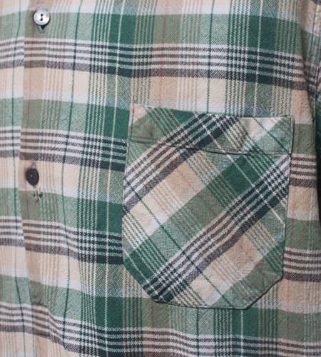 [古着/USED] 70's フランス製 DOLMEN  グランパシャツ